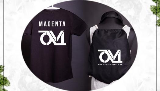 Türchen 16 – Oliver Magenta T-Shirt & Turnbeutel