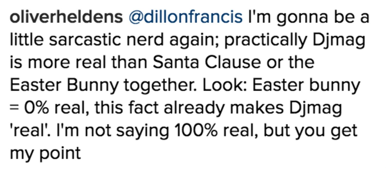 Dillon Francis Shitstorm Instagram