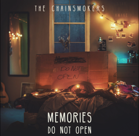 Memories Do Not Open Chainsmokers album Cover Art
