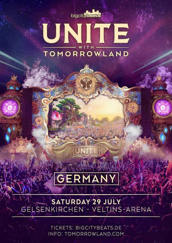 Tomorrowland Deutschland Unite