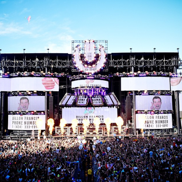 Dillon Francis DJ Snake Handynummer Ultra Music Festival