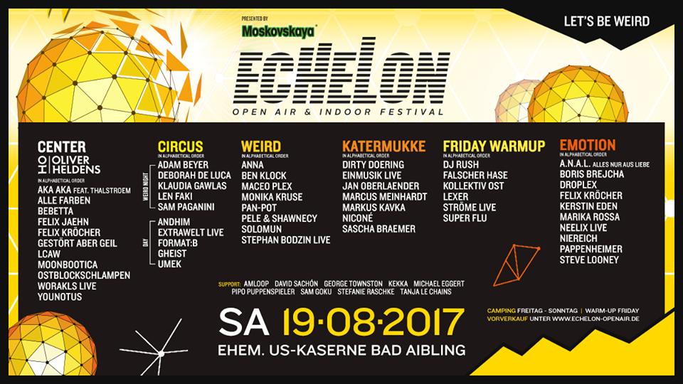 LineUp Echelon