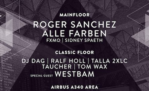 World Club Dome Afterparty am Freitag: Dorian Gray 2.0 im Airbus!
