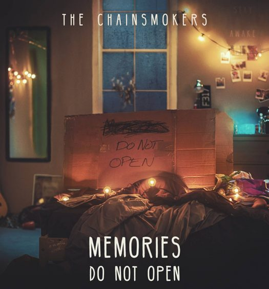Memories Chainsmokers Album Cover Debüt Electro Pop Musik Kerzen Fenster Romantik