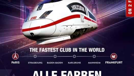 Das ist der schnellste Club der Welt auf Schienen – BigCityBeats Clubtrain