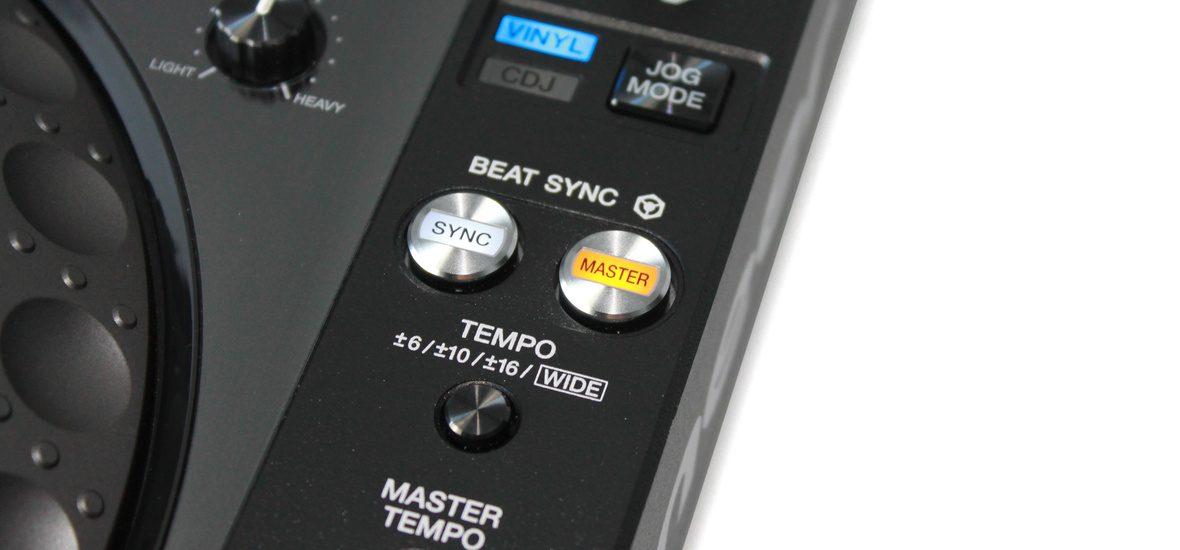 Sync-Button beim CDJ 2000 Nexus von Pioneer