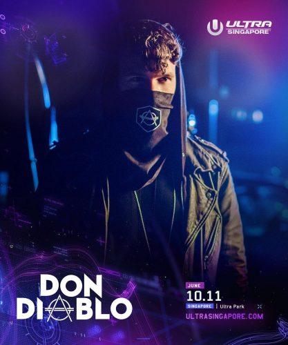 Die Ankündigung: Don Diablo beim Ultra Singapur