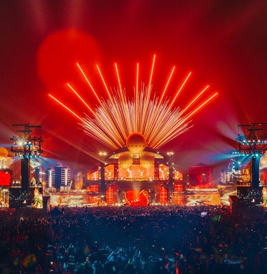 Parookaville 2017 Mainstage Fireworks