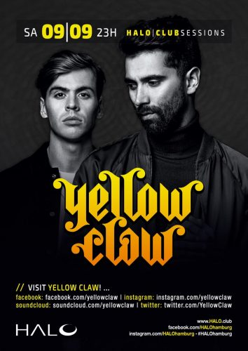 Yellow Claw; Halo Hamburg