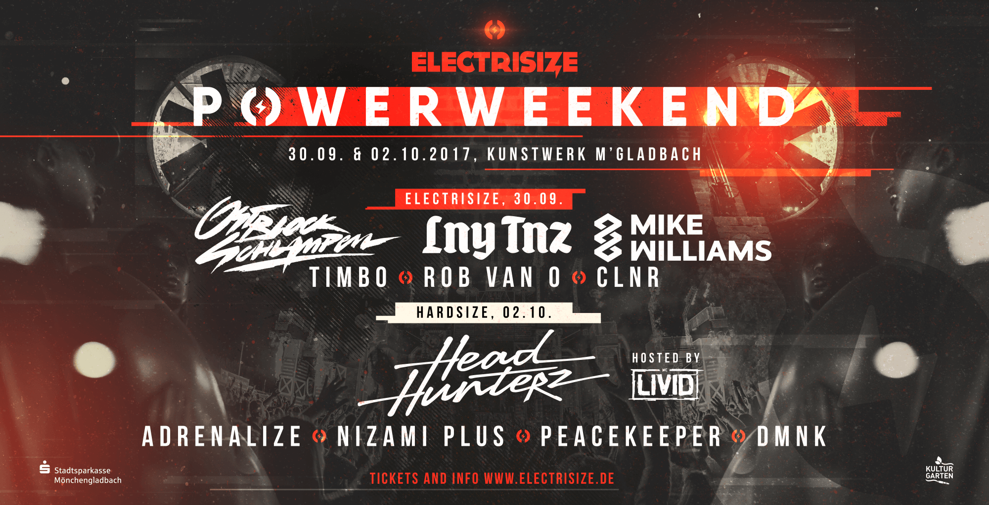 Headhunterz Electrisize Mönchengladbach Lny tnz mike williams